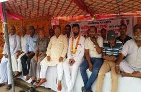 फिर अनिश्चितकालीन अनशन पर बैठे कांग्रेस पार्षद कपिल राज शर्मा, कर दी यह मांग, देखें वीडियो
