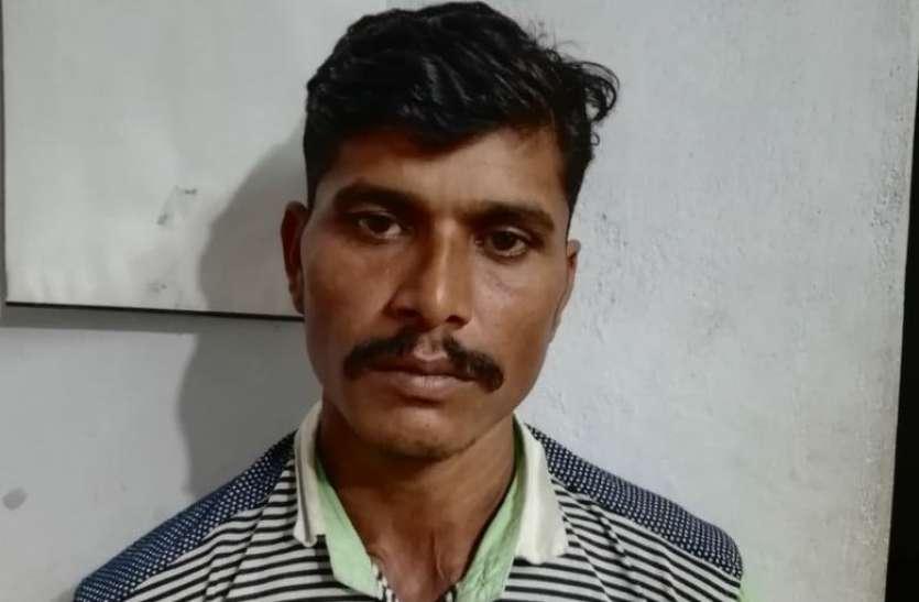 चोरी के बाद ठिकाने बदलने वाला बदमाश गिरफ्तार
