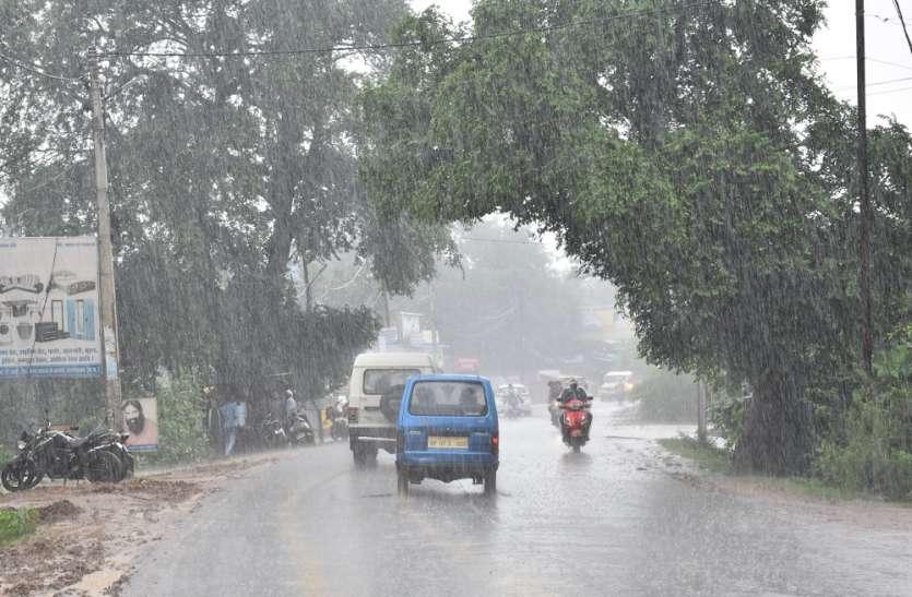 ढ़ाई घंटे में हुई 24 मिमी बारिश