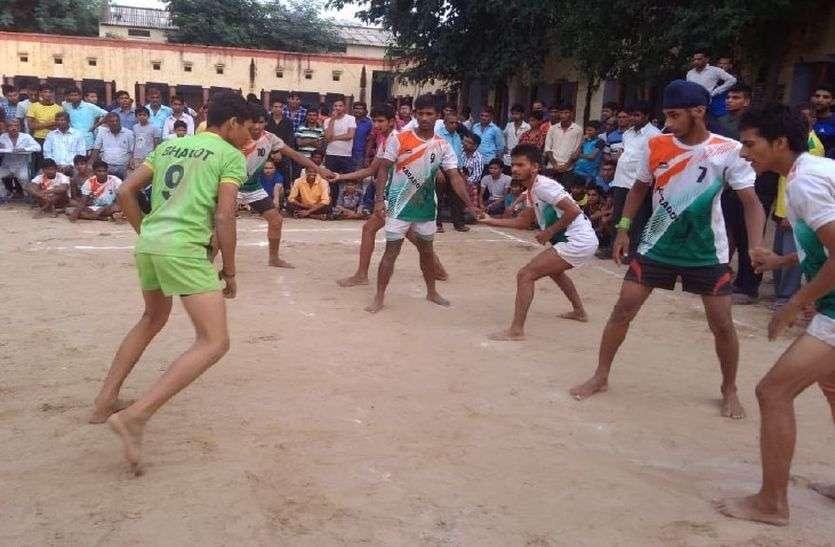 शर्मनाक : जहां हुई अलवर जिले की सबसे बड़ी कबड्डी प्रतियोगिता, वहां की स्कूलों ने नहीं खिलाई अपनी टीमें