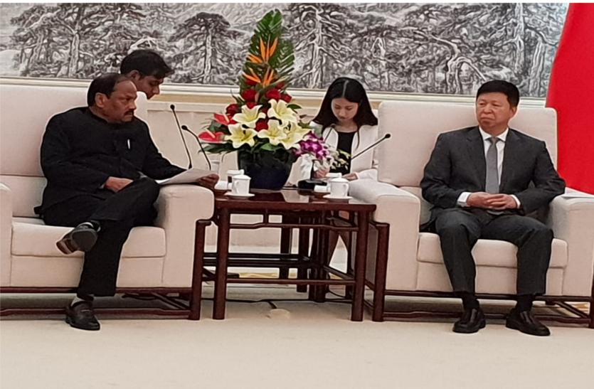 चीन-भारत मिलकर कार्य करें तो वर्ल्ड ट्रेड में दोनों देशों की बड़ी भागीदारी होगी-सीएम दास