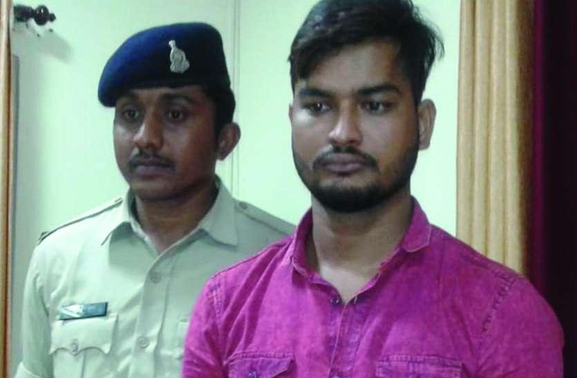 ACB के अफसर से 33 lakh की ठगी करने वाले गिरोह का 8वां सदस्य दिल्ली सें हुआ गिरफ्तार