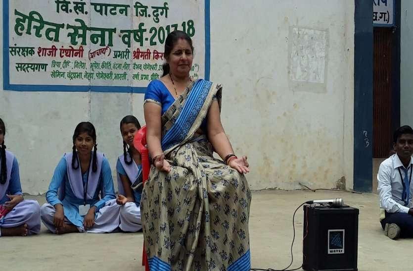 नीलिमा ने खेल-खेल में पढ़ाया संस्कृत, मिला आवार्ड