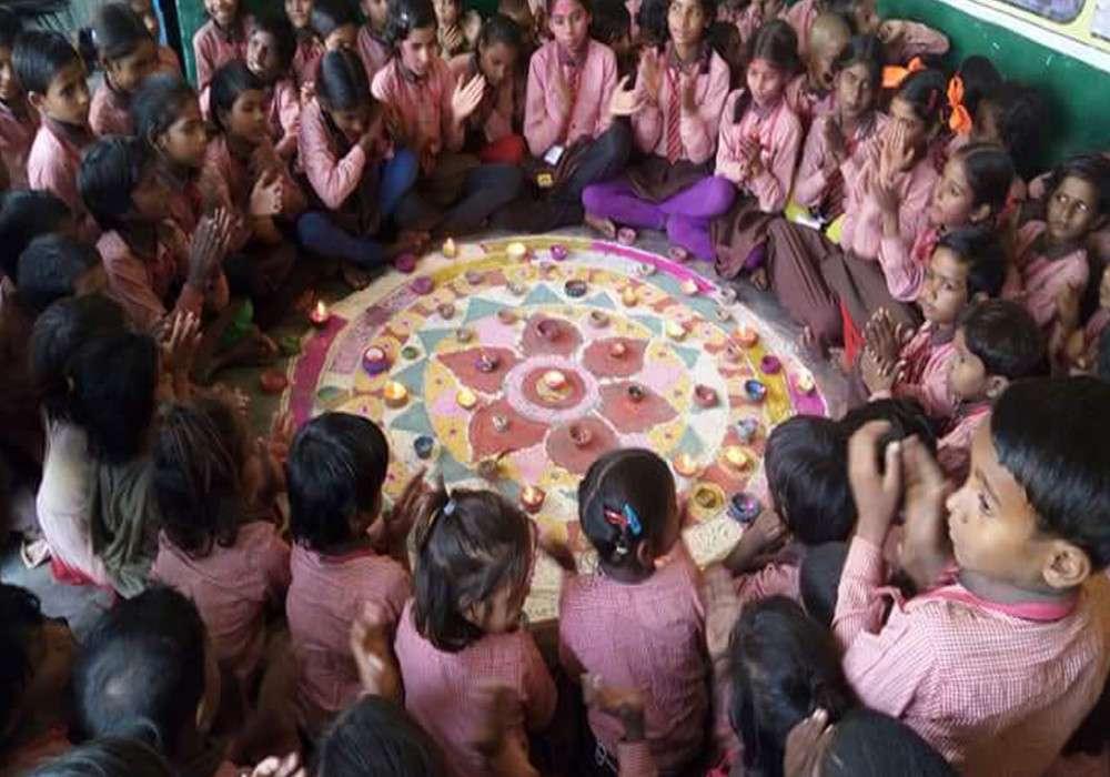 jaitpur primary school Teachers Day