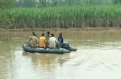 पशुओं के लिए चारा लेने गए 4 युवक नदी में बहे, 1 की मौत और 3 को बचाया गया