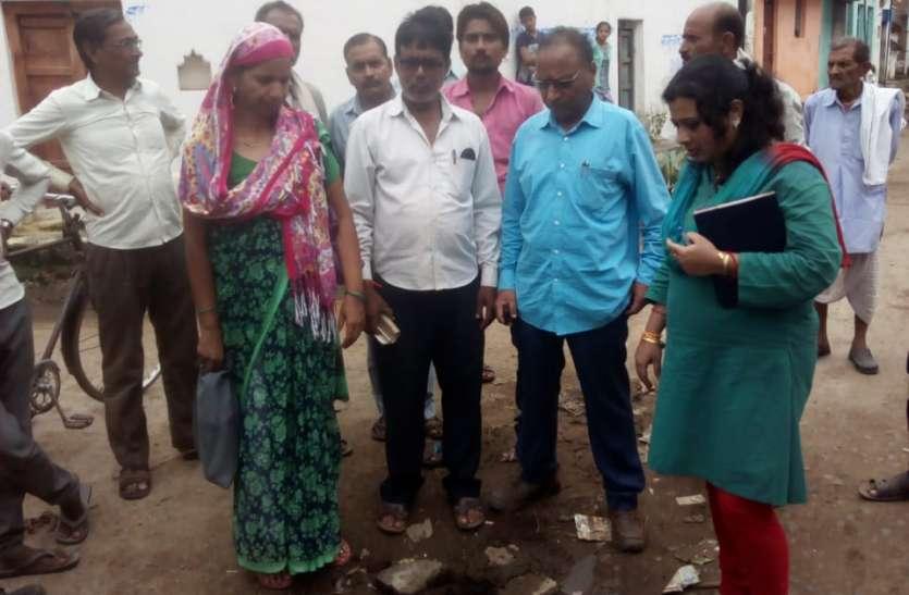 गांव पहुंची स्वास्थ्य विभाग की टीम, 13 मरीज मिले उल्टी-दस्त से पीडि़त