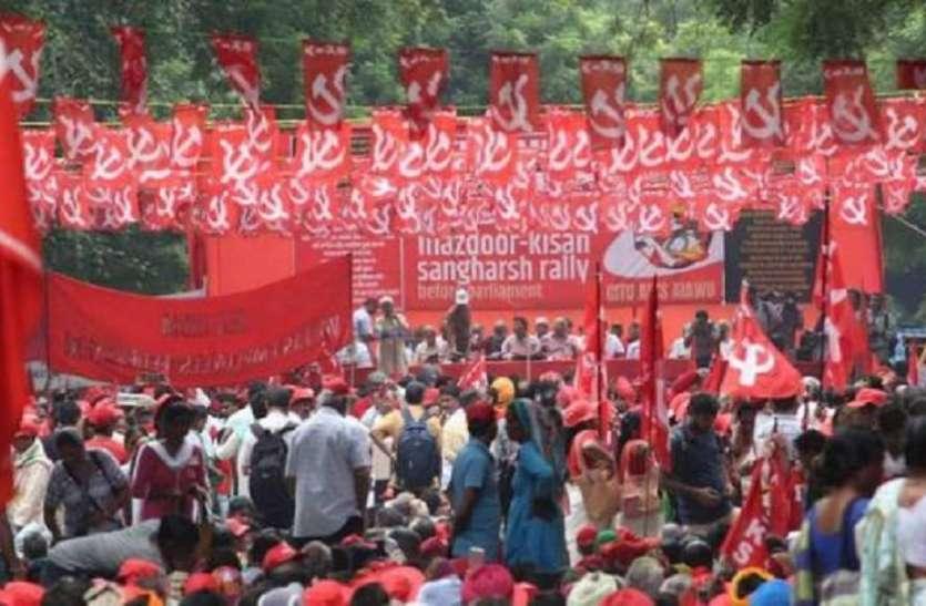 हल्ला बोल: सीताराम येचुरी बोले, किसान और मजदूरों को बचाने के लिए मोदी सरकार को हटाना होगा