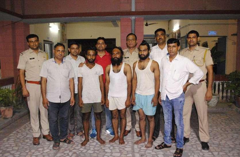 कंपनी में कै श लूटने आए पंजाब के तीन हार्डकोर आरोपी गिरफ्तार