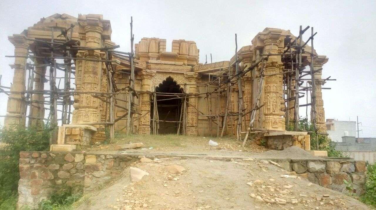 मुरादनगर में निर्माणाधीन तरुण सागर तीर्थ स्थल