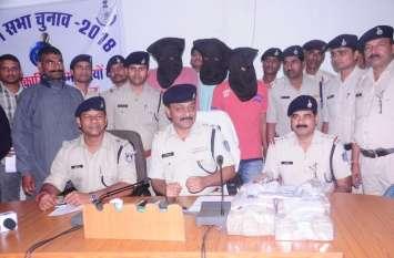 मुरैना के बदमाशों ने अलीराजपुर में की 22 लाख रुपए की लूट