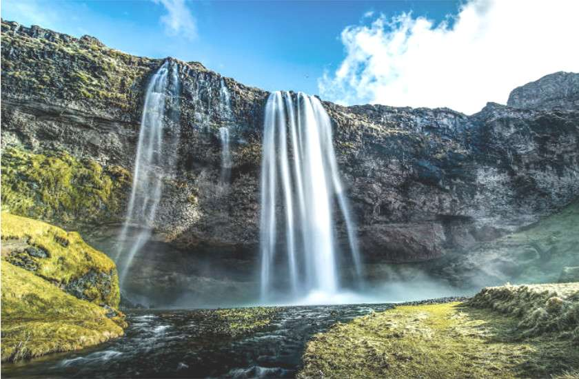 vasudhara waterfall