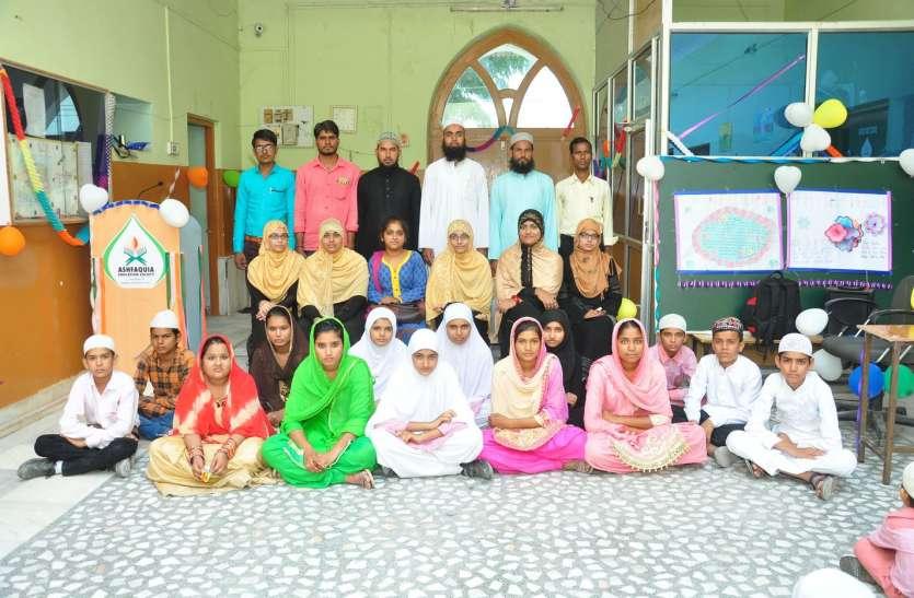 शिक्षक दिवस पर विद्यार्थियों ने किया शिक्षकों का सम्मान