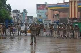 छावनी में तब्दील हुआ बालाघाट शहर