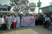 Bharat bandh live: सवर्णो की हुंकार से सड़कों पर विरोध प्रदर्शन, बाजार में पसरा सन्नाटा, देखें तस्वीर