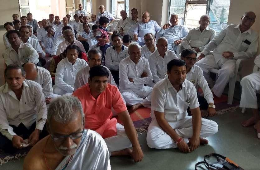 jain Shvetamber Purushottana Gala begins 8th day of worship