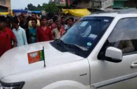 भारत बंद के दौरान जब प्रदर्शनकारियों ने बीजेपी विधायक को घेरा, जमकर हुई नोकझोंक, देखें वीडियो