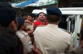 बड़ी खबर : BJP के कद्दवर विधायक के बेटे ने मचाया उपद्रव,हिरासत में लेते ही हालत काबू से बाहर,वाहनों में तोडफ़ोड़,See video