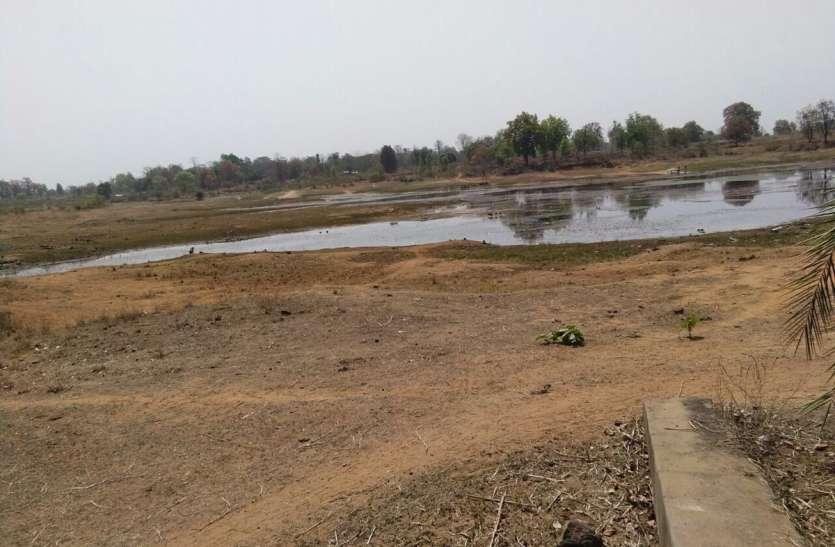 जिले की बारिश 500 मिमी. पर थमा, 31 जलाशयों में सूखे के हालात