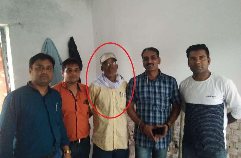 किसान से 3500 की रिश्वत लेते आरआई को लोकायुक्त सागर टीम ने रंगे हाथों पकड़ा