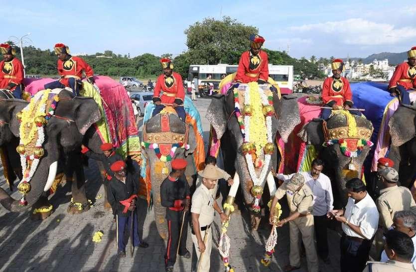 मैसूरु दशहरा महोत्सव: महावत, सहायकों के लिए भी विशेष होता है आयोजन