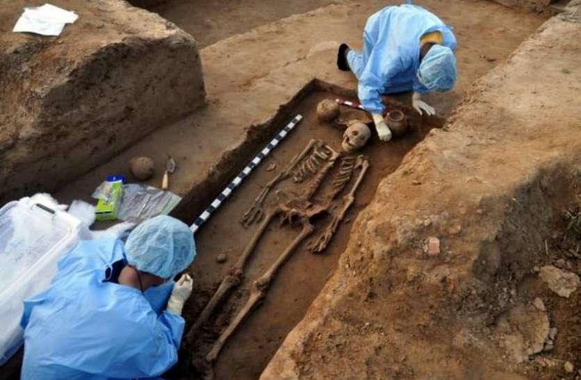 खुदाई में मिला साढ़े चार हजार साल पुराना मानव कंकाल, डीएनए टेस्ट में हुआ चौंकाने वाला खुलासा