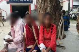 लड़की को घर से अगवा कर गैंगरेप का प्रयास, विरोध करने पर हाथ की नस काटी