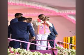 तेलंगाना विधानसभा भंग होने के बाद कांग्रेस को निशाने पर रख केसीआर ने जारी की 105 उम्मीदवारों की सूची