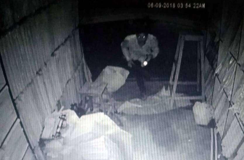 फलोदी में दो दुकानों के शटर तोड़ उड़ाए 55 हजार