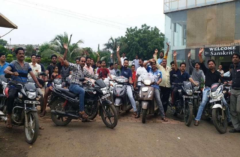 bharat band: 99 प्रतिशत सर्मथन के साथ बंद किया शहर, ऐसे बनें हालात