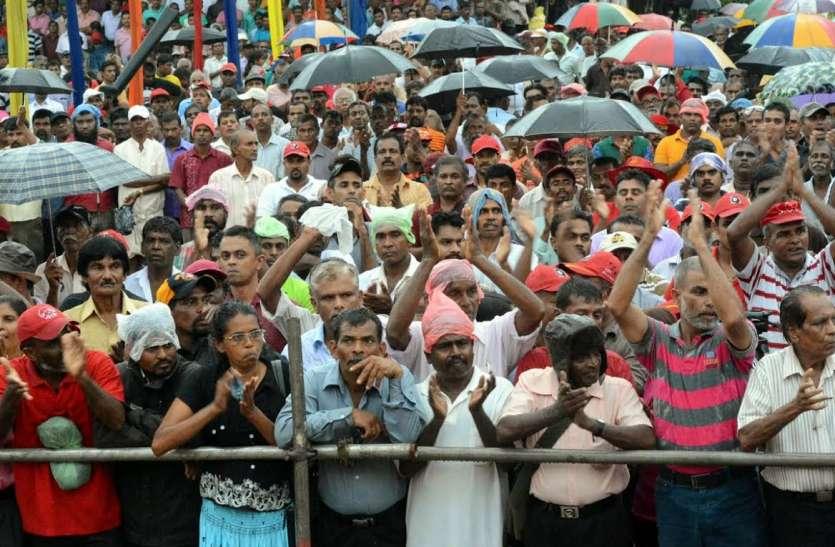 कोलंबो: विपक्ष की रैली में एक की मौत, बढ़ती महंगाई के खिलाफ था प्रदर्शन