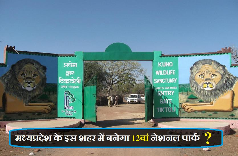मध्यप्रदेश के इस शहर में बनेगा 12वां नेशनल पार्क ?