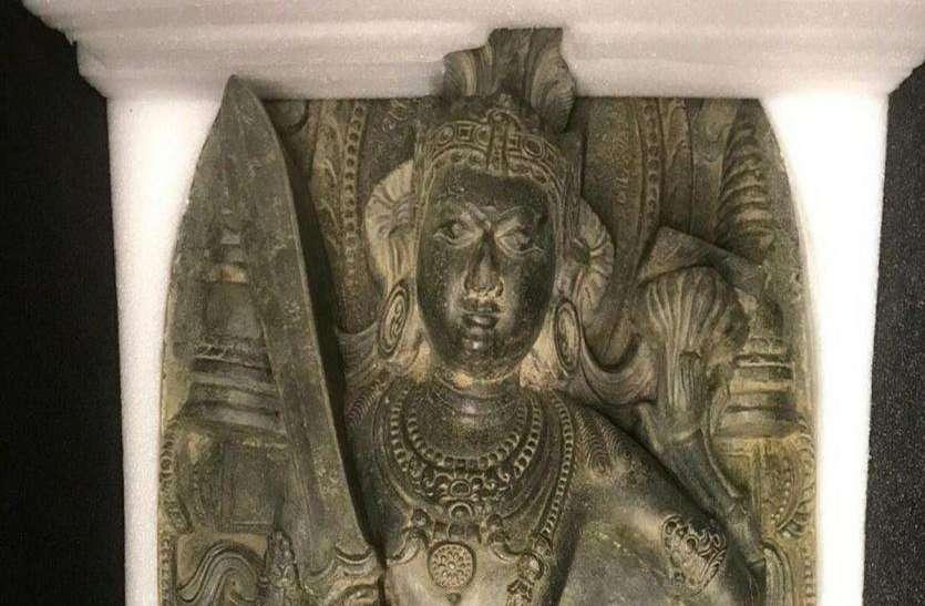 भारत से चुराई गईं थीं 800 साल पुरानी मूर्तियां, अमरीका ने वापस सौंपी