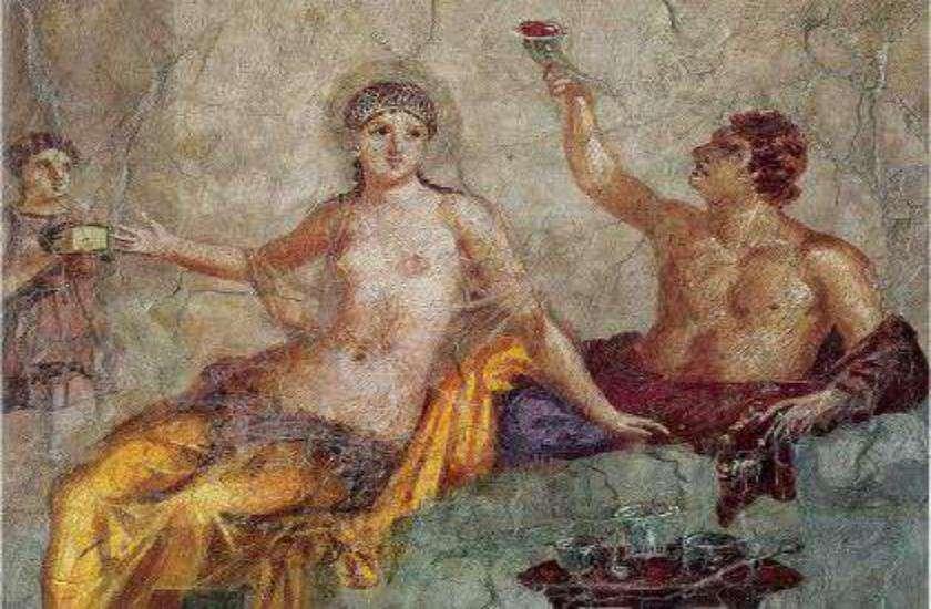 इटली का प्राचीन शहर पोम्पेइ का वेश्यालय
