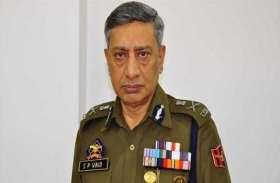 एस.पी.वैद्य को जम्मू-कश्मीर के डीजीपी पद से हटाकर बनाया गया यातायात आयुक्त