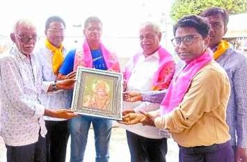लाडनू  में भी बनेगा बाबा श्याम का मंदिर, ट्रस्टी ने खाटू दरबार में की मंदिर शीघ्र बनने की कामना