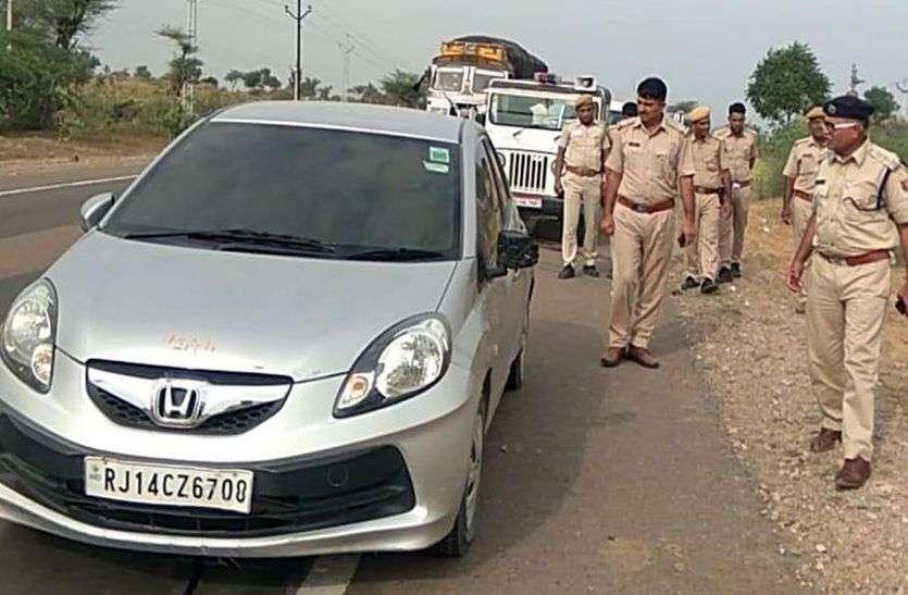 इस कार में मिला आधा जला हुआ शव, हालात देख पुलिस भी चौंक गई, जानिए क्यों?