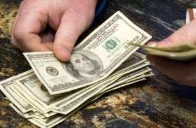 विदेशी मुद्रा भंडार में एक अरब डॉलर से अधिक की गिरावट