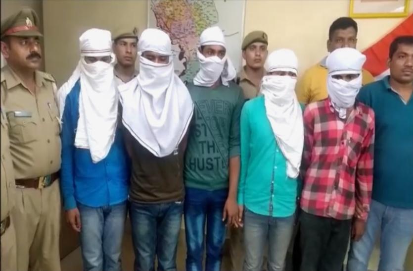 नोएडा पुलिस को मिली बड़ी सफलता, अंतर्राज्यीय गिरोह के 5 गांजा तस्कर गिरफ्तार