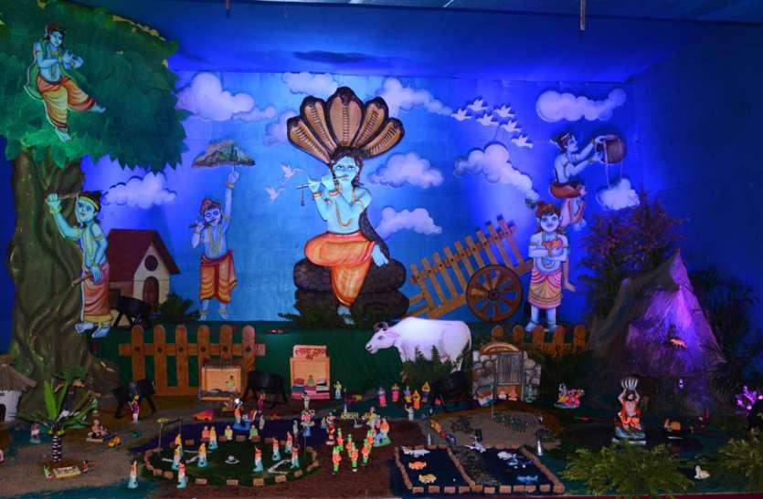 श्री श्याम मंदिर आलमबाजार में मनाया गया नंदोत्सव