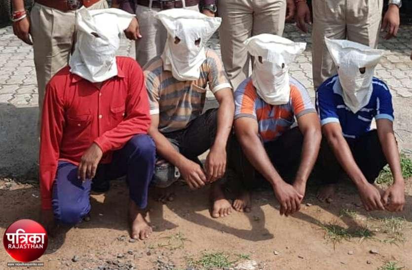 बांसवाड़ा तिहरा हत्याकांड : पिता और पुत्रों की हत्या के बाद भागे आरोपी मंदिरों में घुमते रहे, पीछे लगी रही पुलिस