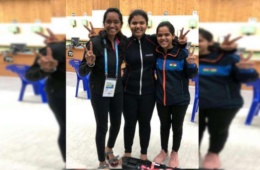 जयपुर की मानिनी कौशिक का स्वर्ण पदक पर निशाना, विश्व रिकॉर्ड भी बनाया