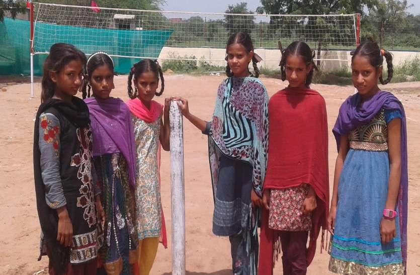 बेटियों ने बढ़ाया गाँव का मान, जिला टीम में हुआ चयन