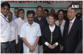 UN के पूर्व सचिव बान की-मून मोहल्ला क्लनीनिक देखने पहुंचे दिल्ली, सीएम केजरीवाल ने कहा- धन्यवाद