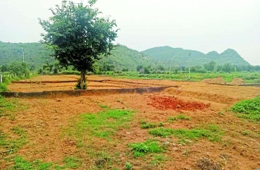 अलवर में कृषि भूमि पर भूखण्ड बेच कर ठगने की तैयारी