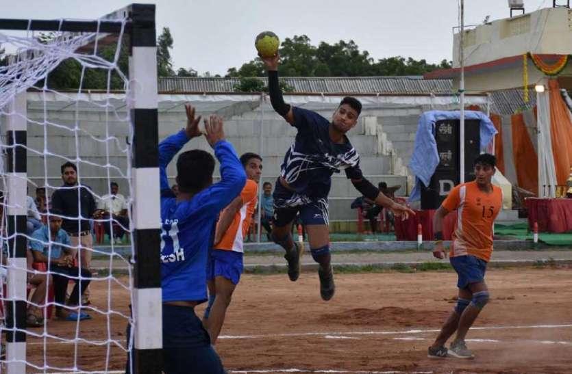 अखिल भारतीय हैण्डबाल प्रतियोगिता का रंगारंग आगाज