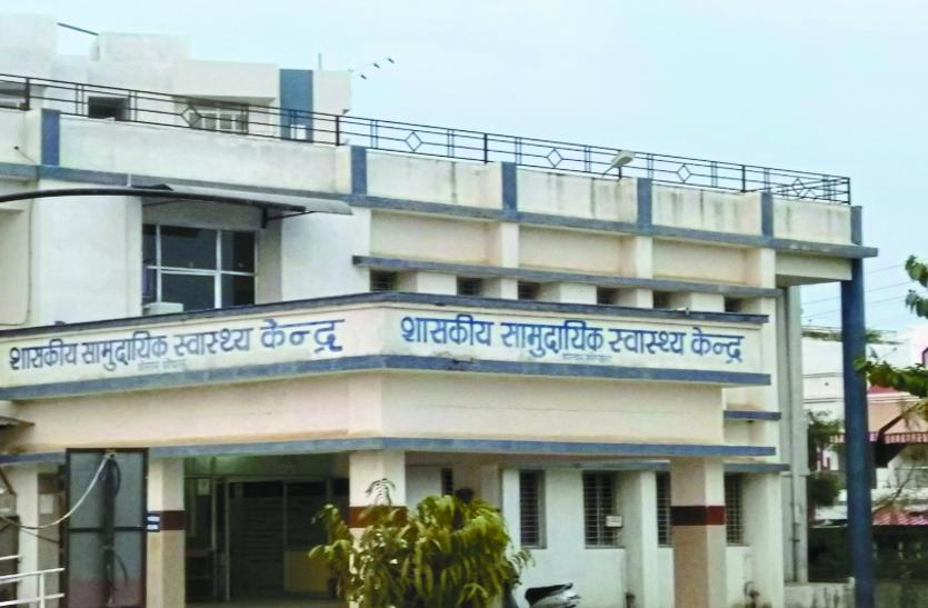 सुविधाओं के अभाव में स्वास्थ्य केंद्र खुद 'बीमार'