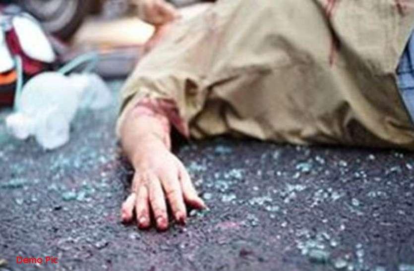 बेकाबू ट्रक ने महिला को कुचला, कार को मारी टक्कर, दो गायों की भी मौत