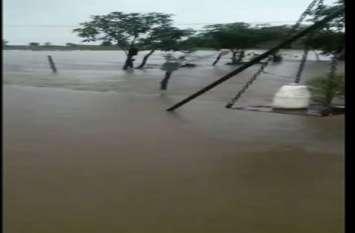 बारिश का कहर: भौरा नदी अफान पर, बमोरी और फतेहगढ़ का संपर्क टूटा
