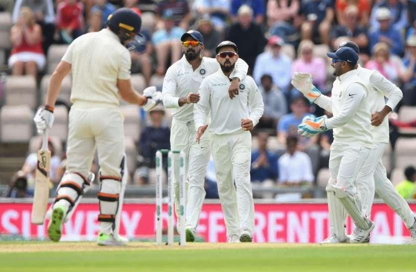 Eng vs Ind : भारतीय बल्लेबाजी लड़खड़ाई, कोहली अर्धशतक से चूके