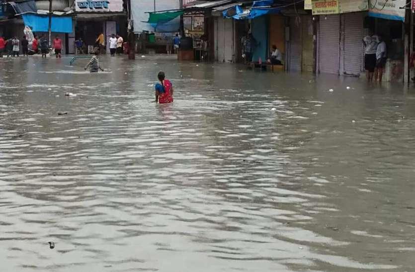 राजस्थान में नदियां उफनीं, बारां कोटा समेत कई जिलों में बाढ़ के हालात